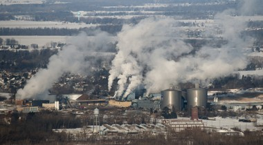 Michigan Sugar Co. in Bay County's Monitor Township is pictured here on Feb. 27, 2015.