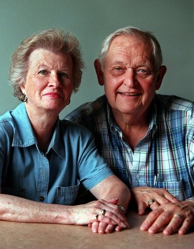 Marian and Bill Gregory met in June 1949 and were married that December. He was 19 and she was 18.