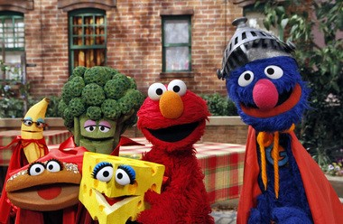 """A 1996 study showed that 95 percent of preschool children had watched the popular PBS children's show """"Sesame Street"""" by the time they turned 3 years old."""