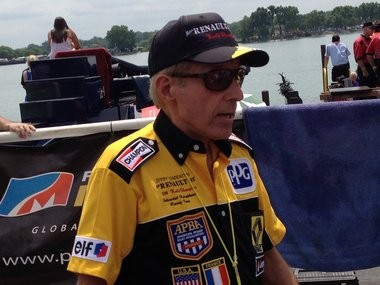 Jerry Schoenith on July 14 at the 2012 APBA Gold Cup in Detroit.
