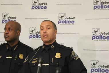 Detroit Police Chief James Craig, Jan. 24, 2014