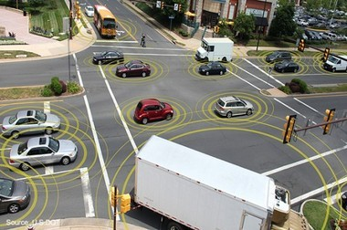 Wi-Fi connected cars and roads can help drivers avoid crashes, according to research being done at the University of Michigan.