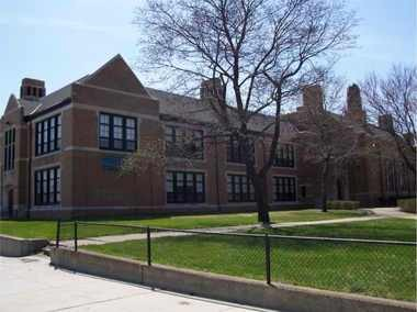 How Southwestern High School, 6921 W. Fort, looked prior to being vacated after the 2011-2012 school year.