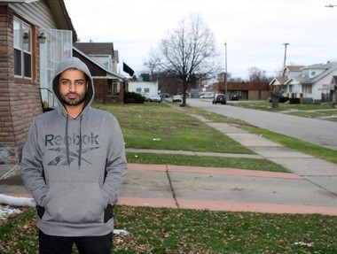 Zaki Albokhshem, an international students from Saudi Arabia, said he would eventually like to remain in Detroit. (Courtesy photo)
