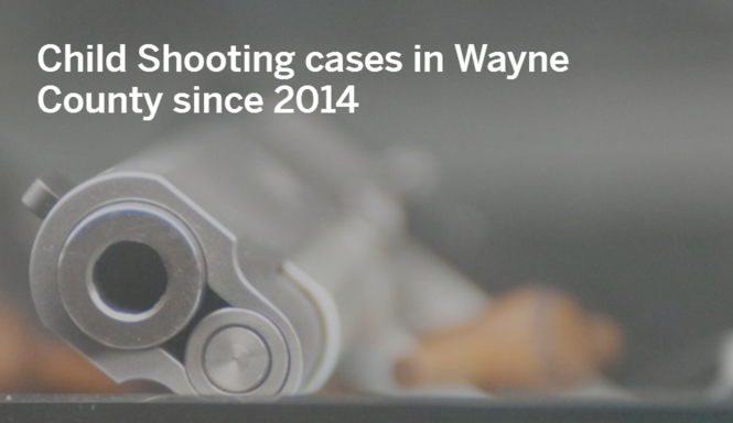 These 11 kids were shot with guns found at home - mlive com
