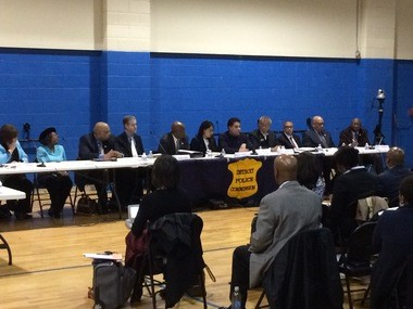 Detroit Police Commission Immigration meeting, March 30, 2017.