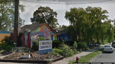 Psychedelic Healing Shack, Google Street View image