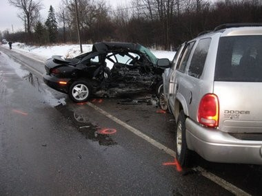 Kelsey Raffaele, 17, was killed in this crash she caused because she was on her cellphone. Since the crash, her mother, Bonnie Raffaele, has pushed for legislation banning cellphone use by novice drivers. Kelsey's Law goes into effect Thursday, March 28.