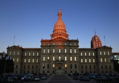 Right-to-work repercussions continue at Michigan's Capitol.