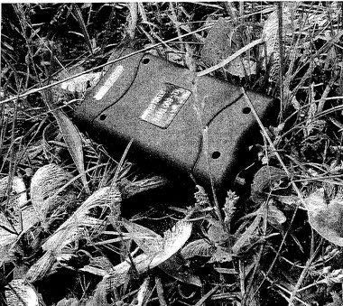 This police evidence photo shows the stun gun a 17-year-old Lansing teen used in a random attack. The victim shot him with a legally concealed gun.