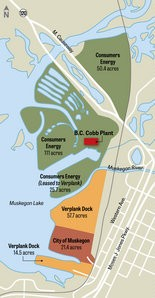 Consumers Energy shows road map for B C  Cobb shutdown and future