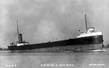 The J.B. Ford during her early years as the Edwin F. Holmes. The ship was launched in 1903, in Lorain, Ohio.