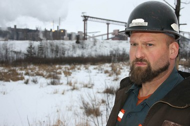 """Miner Peter Frustaglio Jr.: """"It's pretty much the best job you can get."""" (Photo by Ted Roelofs)"""