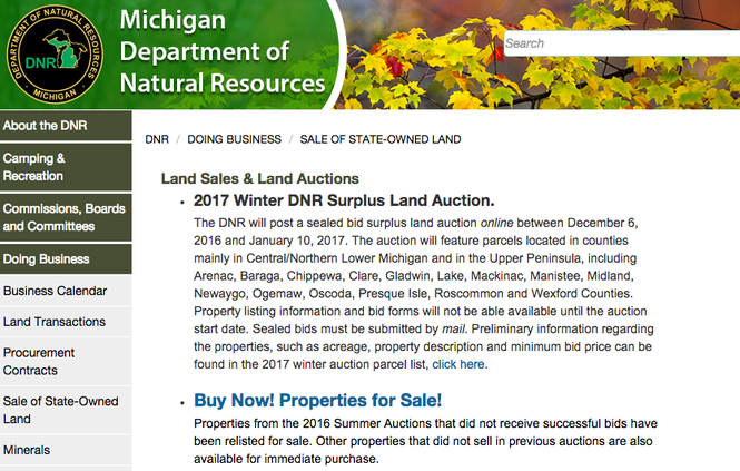 See 58 Michigan properties available at DNR auction - mlive com