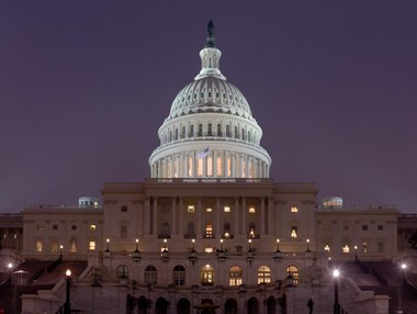U.S. Capitol building. Lawmakers have reached a tentative budget deal to avoid a government shutdown.