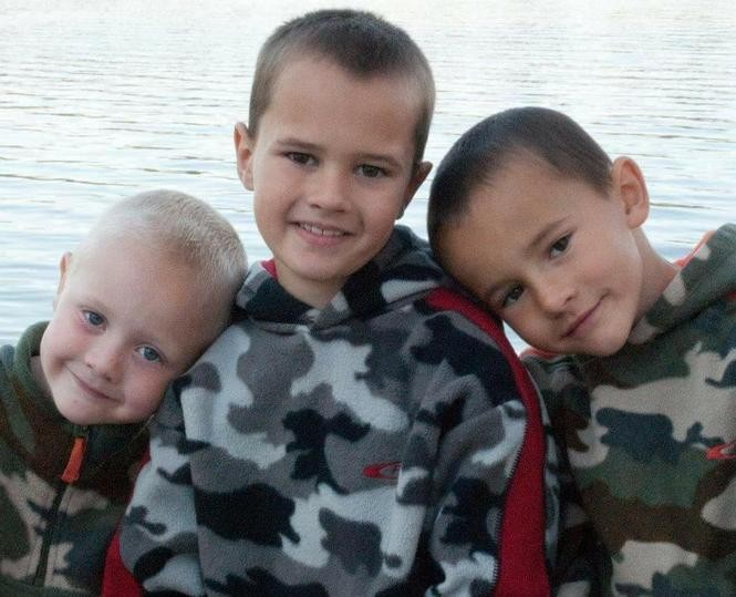 Pictured, left to right, are Tanner, Andrew and Alexander Skelton. The three boys went missing in November 2010 at ages 5, 9 and 7, respectively. (Courtesy | Tanya Zuvers)