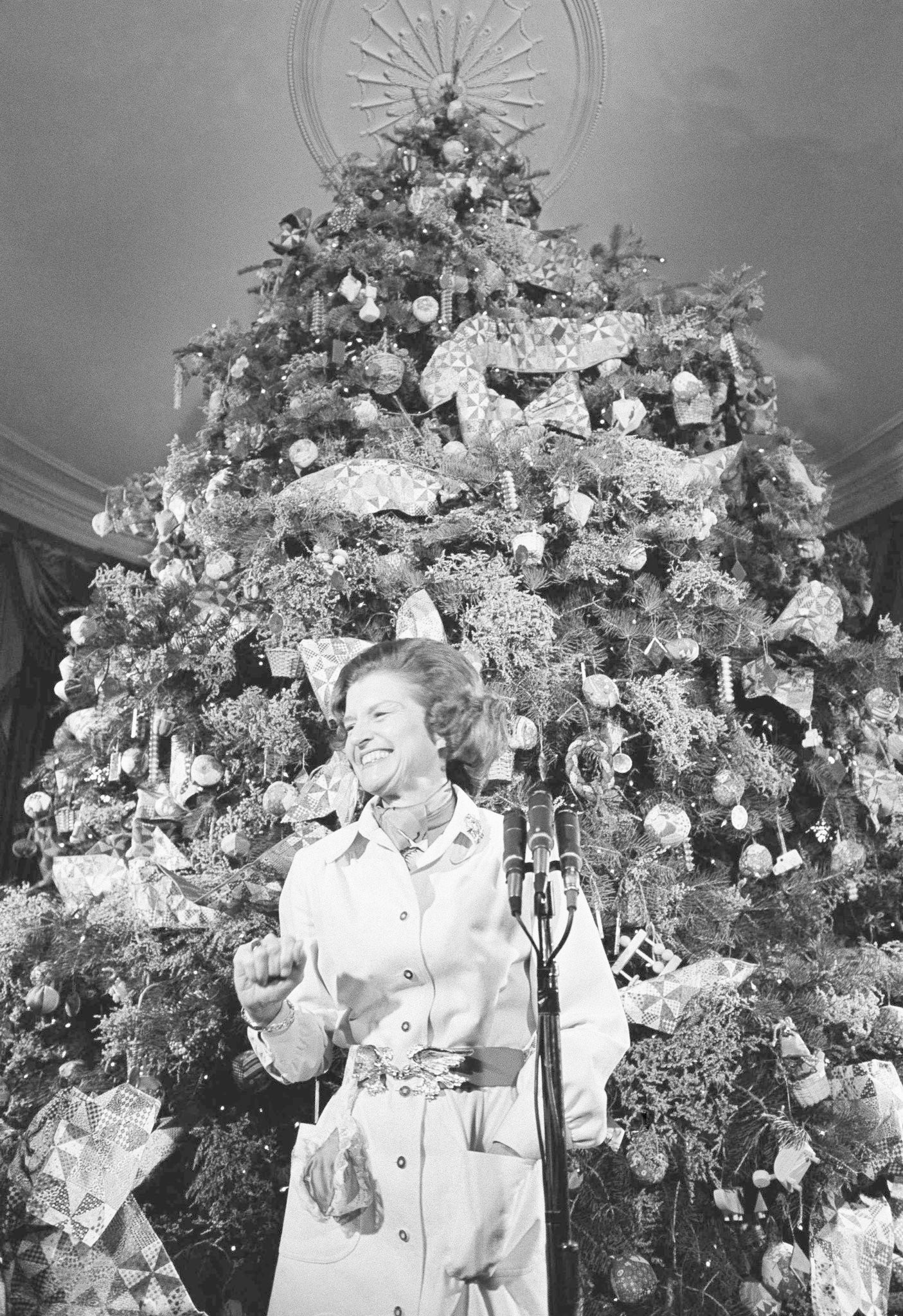 Christmas White House 2021 Sesame Street How Gerald And Betty Ford Celebrated Christmas In The White House Mlive Com