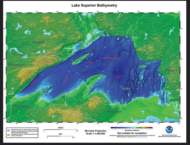Lake Superior is the largest of the Great Lakes.