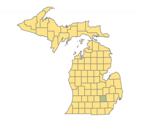 Ranking Michigan's 83 counties by percentage of Medicaid