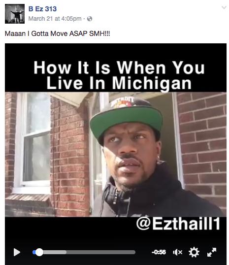 Comedian S Viral Video Perfectly Captures Michigan Winter Struggles Mlive Com