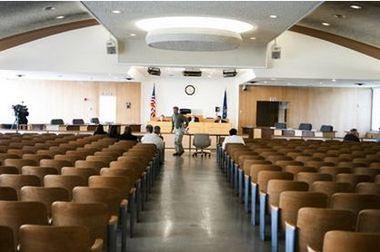 Flint City Council chambers
