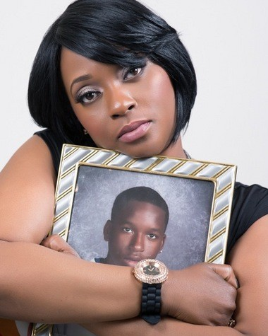 """Saginaw resident Tiffanny Goodman hopes to bring her new play """"Cry Out!"""" to The Whiting in Flint to spread her message on speaking out against violence. Goodman's son, 18-year-old Ste'von Goodman was shot and killed in March 2009."""