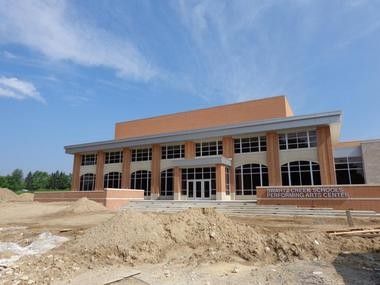 Swartz Creek school officials will hold a 1 p.m. Thursday, Sept. 5 ribbon cutting at the district's new performing arts center.