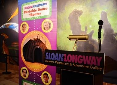 Longway Planetarium's Portable Dome Theater is pictured at the planetarium Thursday, Nov. 14, 2013. Chris Aldridge | MLive.com