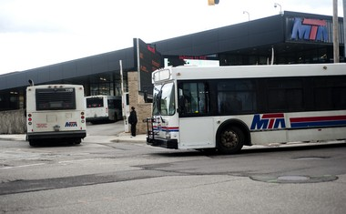 Buses enter the Mass Transit Authority station in Flint in this Flint Journal file photo.The agency is ready to invest in a study on the potential for bus rapid transit from Michigan-Ohio border to Bay City.