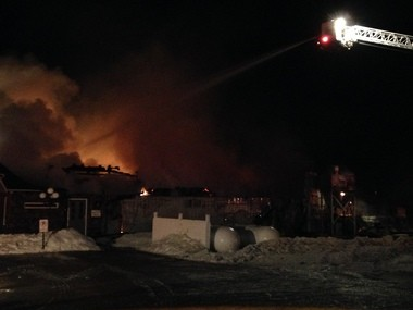 A fire started shortly after 8 p.m. Friday, Jan. 31 at the Arch Global Precision building located in the 7100 block of Sheridan Road near the Genesee and Shiawassee county line. The building was completely destroyed. No employees were injured.