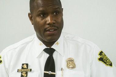 Former Flint Police Chief James W. Tolbert in a 2014 Flint Journal file photo