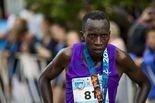 Leonard Korir, 28 of Tucson, Arizona, won the 2015 Crim 10-mile race on Saturday in downtown Flint. Danny Miller   MLive.com