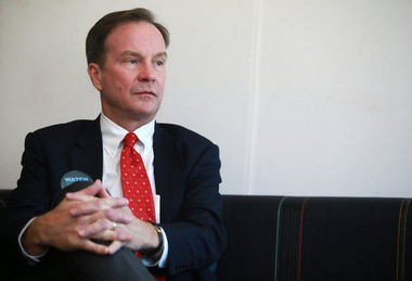 Attorney General Bill Schuette is pictured on Thursday, July 9, 2015.