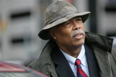 Sam Riddle of the Michigan National Action Network is shown in this 2010 Associated Press file photo.