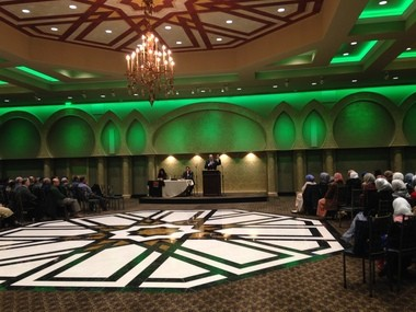 Both Muslims and non-Muslims gathered at the Flint Islamic Center, 9447 Clayton Township, on Friday, Dec. 11 for a panel discussion with speakers Congressman Dan Kildee, former State Rep. Rashida Tlaib, D-Detroit, and Harris Ahmed, Esq.