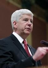 Michigan Gov. Rick Snyder (AP Photo/Al Goldis)