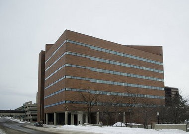 The State Office Building in downtown Flint is shown in this Flint Journal file photo.