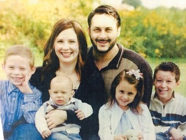 The Quasarano family, from left: Brendan, 9; Grant, 2; Heather, 39; Leonard, 35; Rachel, 7; Luke, 11. Courtesy | Genesee County Sheriff's Office