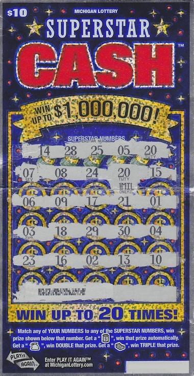Flint man wins $1 million with instant lottery ticket