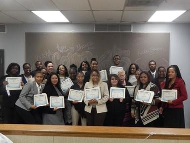 Flint STRIVE participants. The program is expanding its outreach in the north side of Flint with a $120,065 grant from the Ruth Mott Foundation.