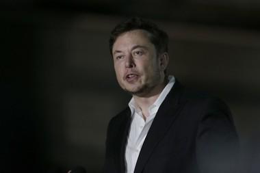 Tesla CEO and founder of the Boring Company Elon Musk speaks at a news conference, Thursday, June 14, 2018, in Chicago. (AP Photo/Kiichiro Sato)(Kiichiro Sato)