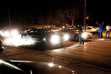 Flint's worst kept secret: Drag racers take to city streets after
