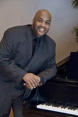 Roger Jones, pianist, Flint School of Performing Arts.