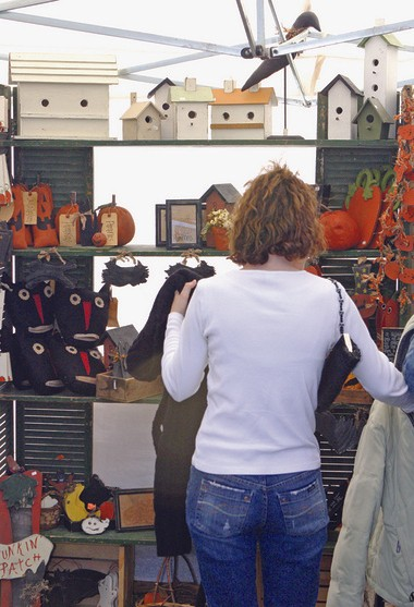'Tis the craft show and bazaar season which gets underway tomorrow with several West Michigan shows taking place.