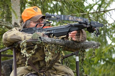 The number of archers using crossbows has been rising in recent years in Michigan.