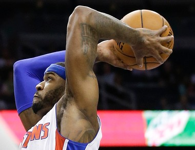 Trading Josh Smith, pictured, is not the most likely outcome this summer, Detroit Pistons teammate Andre Drummond predicted Thursday.