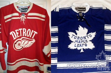 062c104e Will these be the jerseys the Red Wings and Maple Leafs wear at the 2014  Winter