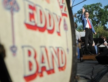 The Saginaw Eddy Band kicks off its 2015 season with a free concert Sunday, June 14, at the FirstMerit Bank Event Park.