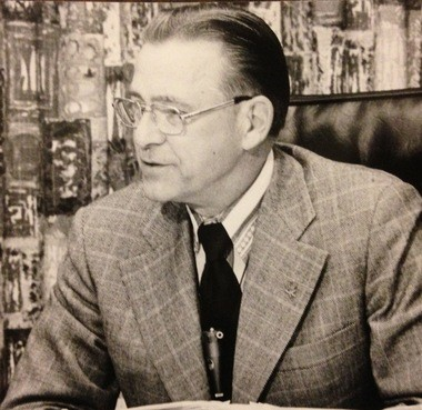 Paul H. Wendler in 1973. Wendler served on the Saginaw City Council from 1959 until 1973, including as mayor for the last two years.