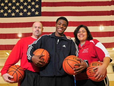 Marquavian Stephens' coaches at Swartz Creek High School stepped in to save his life.